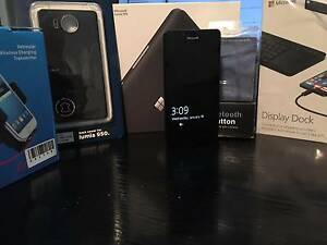 Microsoft Lumia 950 (inc DisplayDock & car accessories) Gisborne Macedon Ranges Preview