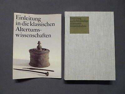 Buch, Einleitung in die klassischen Altertumswissenschaften, DVW, DDR 1986