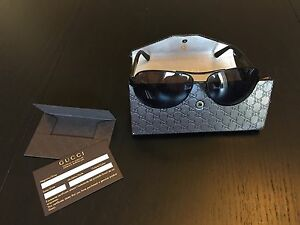 Gucci Men's Aviator Sunglasses GG2252S (Ajax/Toronto)