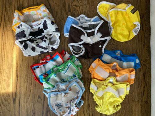 Lot of 11 Rumparooz Thirsties Blueberry Cloth Diaper Covers