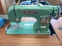 MINT ATLAS VINTAGE SEWING MACHINE/ TABLE St. Catharines Ontario Preview