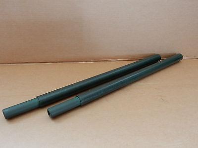 10x Rohr Glasfaserrohre GFK Tarnnetzstangen Stange 700mm steckbar BW Bund