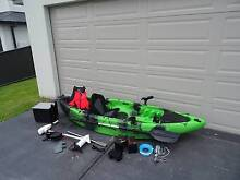 Kayak & 40LBS Electric Motor with Fish finder Combo