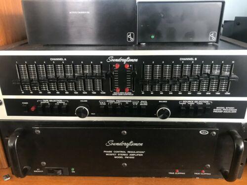 Soundcraftsmen SP 4001 preamp equalizer