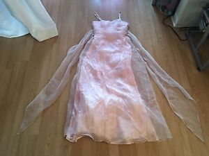 Robe de bal rose