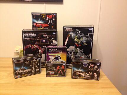 Transformers Masterpiece mp-08 12 13B 15 17 20 Astrotrain Reissue NIB Harristown Toowoomba City Preview