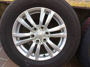 Mitsubishi Pajero rims and tyres x 5 Annerley Brisbane South West Preview