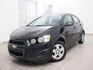 2012 Chevrolet Sonic TOURING *BLUETOOTH* 100% APPROUVÉ *VENEZ LA