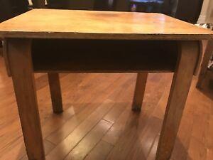 Old school school desk