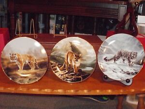 The World's Most Magnificient Cats plate serie