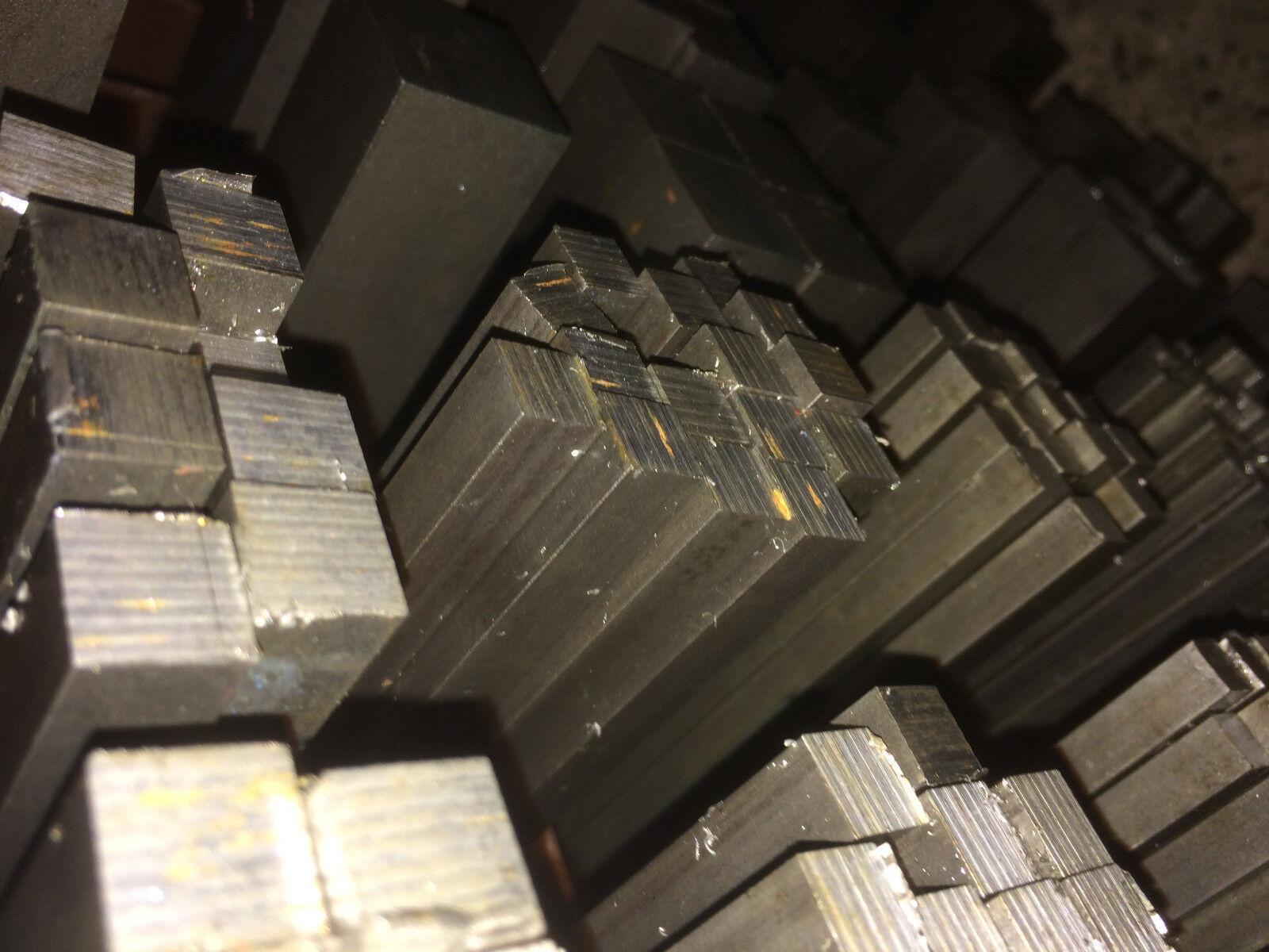 Bright Steel 300mm 1200mm 3mm or 5mm Flat Bar 600mm EN3B