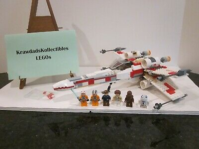 LEGO STAR WARS 6212 X-WING FIGHTER EPISODE 4/5/6 COMPLETE WITH MINIFIGURES