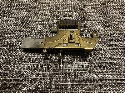 Used Curtis Model 15 Key Cutter Wide Head Assembly W Cam Pin Carriage Spring