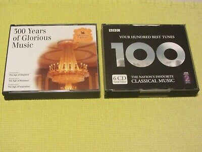 Readers Digest 500 Years Glorious Music 100 Best Tunes Classical 2 Albums 9 CDs