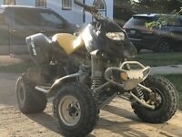 2007 Can-Am DS650X  (sell/trade)