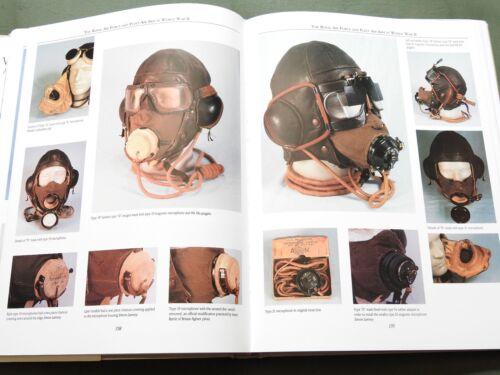 "SIGNED ""VTG FLYING HELMETS"" US BRITISH GERMAN WW1 WW2 FLIGHT CAP REFERENCE BOOK"