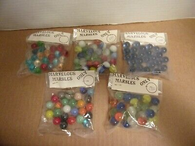 Vintage Marvelous Marbles in Original Unopened Package_Lot of -