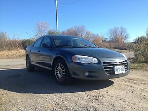 2006 Chrysler Sebring with summer & winter tires