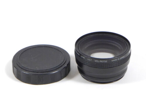 Sony VCL-R0752  0.7X Wide Angle Converter Lens 52mm