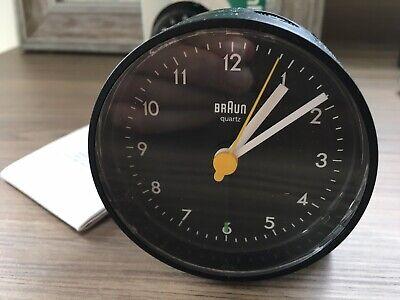 Vintage 90s BRAUN Quartz Alarm Clock 4748 / AB 5 D. Lubs Rams Germany Modernism