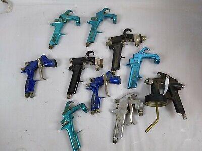 Lot Of Hvlp Sprayerguns Parts Devilbiss Binks F6