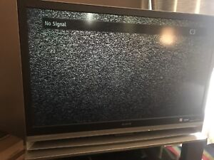 46 inch hdtv sony with stand 50 obo
