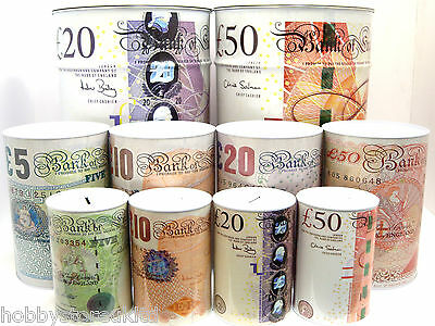 Money Tin Piggy Bank Printed Money Box Money Saving Box Cash Can Cash Tin Box