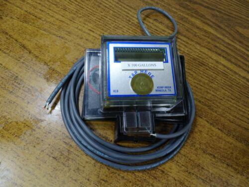 VL9 Kemp-Meek Remote Register, LCD Display for Wired Encoder Output Meter