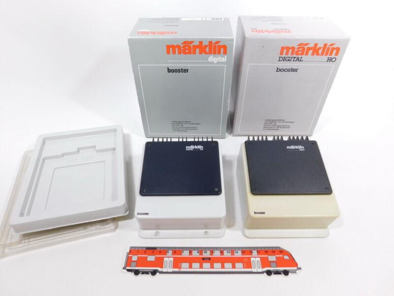 CS866-2 #2x Märklin Digital H0/AC 6015 Booster, Used, Box