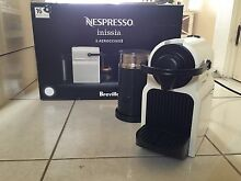 Nespresso Inissia Coffe Machine + aeroccino Wollstonecraft North Sydney Area Preview