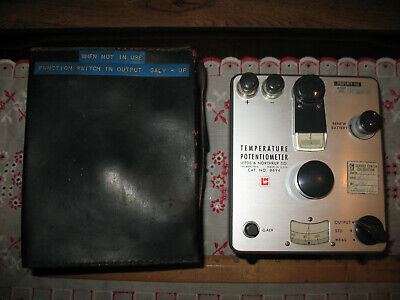Vintage Leeds Northrup Co. Potentiometer No. 8694 Philadelphia - Usa - 1963