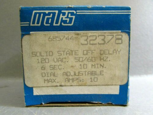 MARS  SOLID STATE TIMER  OFF DELAY  32378