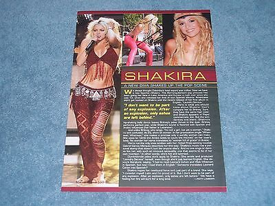 "2000 Article with Singer Shakira ""New Diva Shakes up the Pop Scene"""