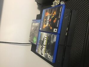 Ps4 300$ avec jeux/with games(no controller)