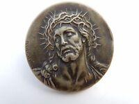 Art Nouveau Era Tiny Plaque ( Christ ) Desvergnes Signed Gd / Gg? -  - ebay.co.uk