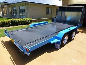 PROFESSIONALLY BUILT CAR TRAILER 5.1 M X 2.0 M 2600 GVM Tea Gardens Great Lakes Area Preview