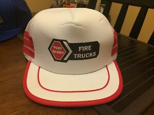 Vintage Trucker Hat Port Garry Fire Trucks