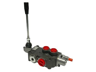 1 Spool Hydraulic Control Valve Double Acting 21 Gpm 3600 Psi Sae Ports New