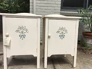 Beautiful  Antique Bedside Cabinets Lane Cove Lane Cove Area Preview