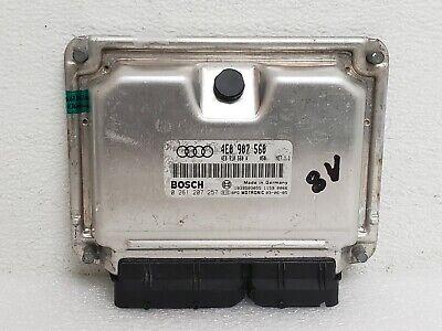 2004-2005 AUDI A8 D3 4.2L ENGINE CONTROL UNIT COMPUTER ECU ECM OEM 4E0907560