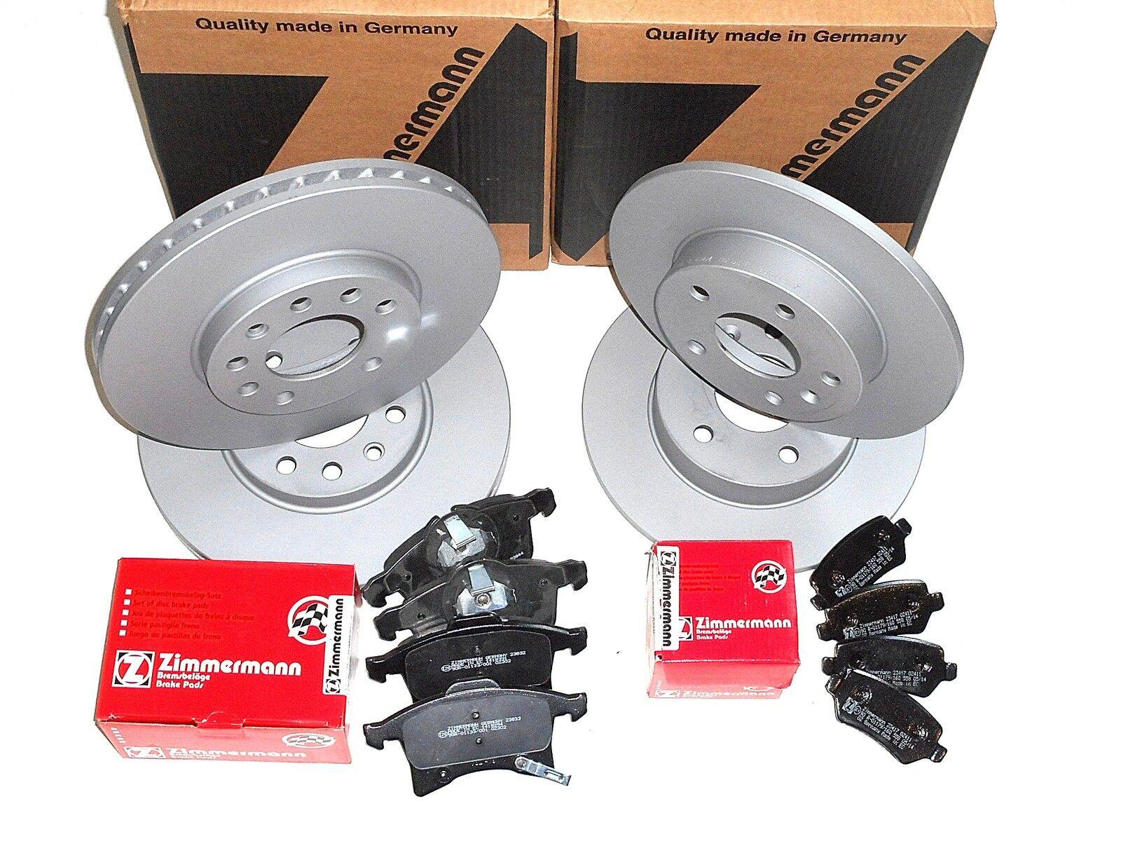 Ford Tourneo Connect Zimmermann Bremsbeläge Bremsklötze für vorne hinten*