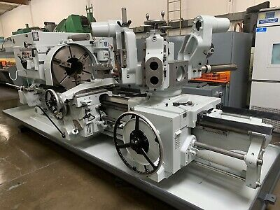 Warner Swasey 9 12 Thru Hole Turret Lathe 29.5 Swing Model 4a M-3550