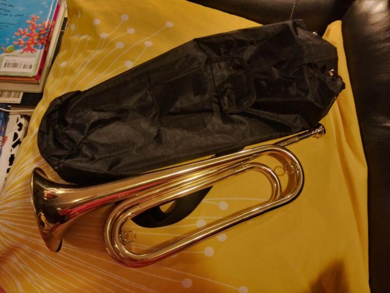 """Brass """"Regiment"""" Bugle"""