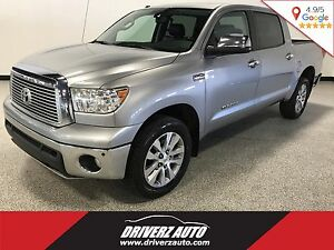 2011 Toyota Tundra Limited 5.7L V8 LIMITED TRIM, LEATHER, PAR...