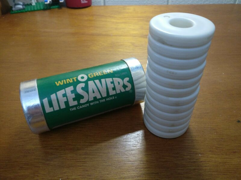 LifeSavers WINT O GREEN Brain Teaser Stacking Plastic Puzzle Vintage