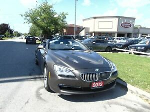 2012 BMW 650I NAVI | CAM|CLEAN CAR FAX H.U.D | CONVERTABLE
