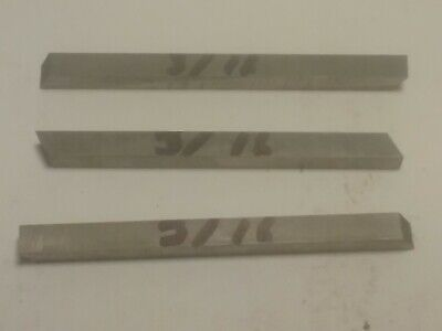 Lot Of 3 Hss Unbranded Lathe Square Cutting Tool Bits 316 X 2 12.