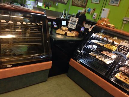 Complete bakery display cabinets Spreyton Devonport Area Preview