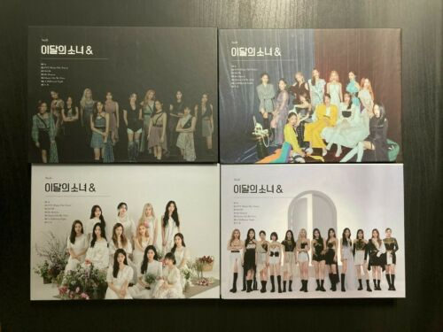 LOONA & And 4th Mini Album (Unsealed)(No Photocard)