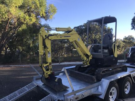 2.5t excavator hire Landsdale Wanneroo Area Preview